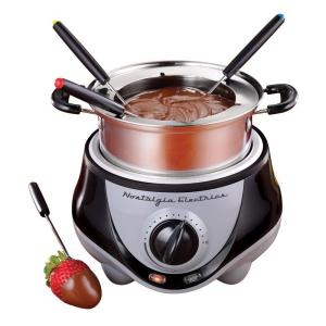 Nostalgia Electrics Fondue Pot in Stainless Steel