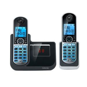 Motorola DECT 6.0 2-Handset Cordless Phone with Answering System by Motorola