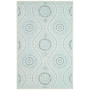 Martha Stewart Living Ogee Dot Spring Melt 8 ft. x 10 ft. Area Rug