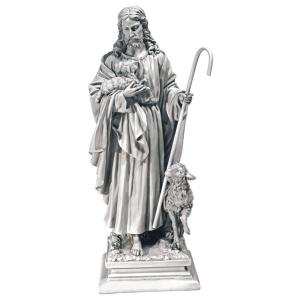 Design Toscano 28 in. Jesus The Good Shepherd Large Statue