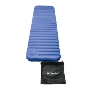 Click here to buy Air Comfort Roll & Go Inflatable Sleeping Pad - Large (Blue) by Air Comfort.