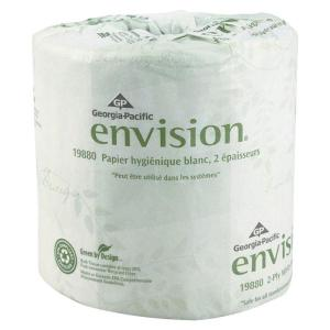 Georgia-Pacific Envision White Embossed Bathroom Tissue 2-Ply (550 Sheets per... by Georgia-Pacific
