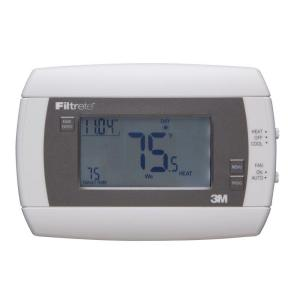 Filtrete 7-Day Touch Screen Programmable Thermostat
