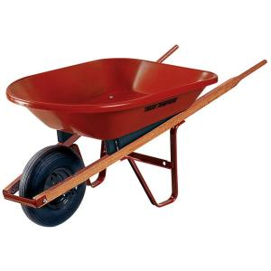 True Temper 4 cu. ft. Poly Wheelbarrow