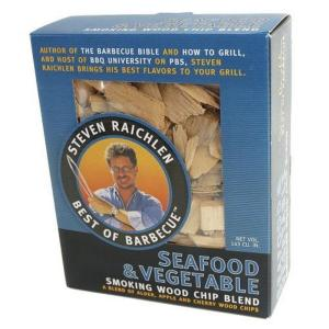 Steven Raichlen Smoking Wood Chips for Seafood and Vegetables by Steven Raichlen