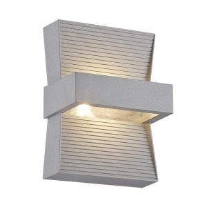Eurofase Mill Collection 1-Light Marine Grey Outdoor LED Wall Mount by Eurofase