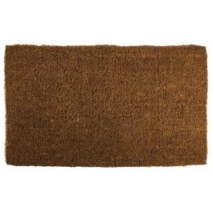 Entryways Blank 18 inch x 30 inch Extra Thick Hand Woven Coir Door Mat