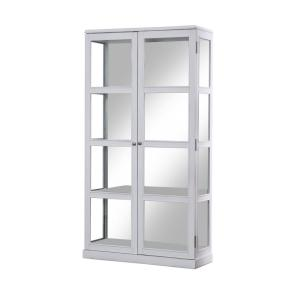 Curio Cabinet Display Cabinets Kitchen Dining Room Furniture The Home Depot