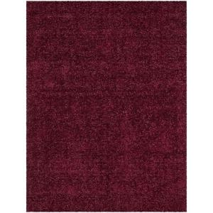 Chandra Mebec Cherry Red 7 ft. 9 inch x 10 ft. 6 inch Indoor Area Rug by
