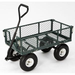 3 cu. ft. 400 lb. Capacity Steel Utility Cart