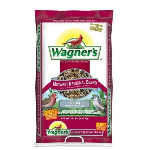 Wagner's 20 lb. Midwest Regional Blend Wild Bird Food by