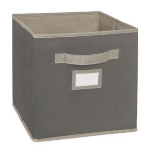 Fabric in Cube Storage Bins