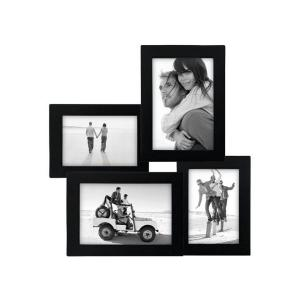 Home Decorators Collection 12 in. x 12.25 in. Black Collage Picture Frame