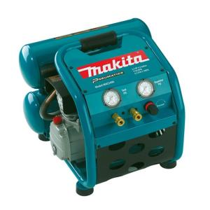 Makita 4.2 Gal. 2.5 HP Portable Electrical 2-Stack Air Compressor by