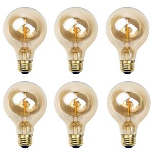 Newhouse Lighting 60-Watt Incandescent T45 Thomas Edison Vintage Filament Globe... by Newhouse Lighting