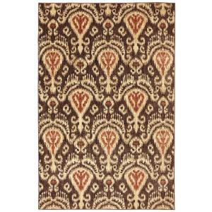 American Rug Craftsmen Chandelier Latte 3 ft. 6 inch x 5 ft. 6 inch Accent Rug by