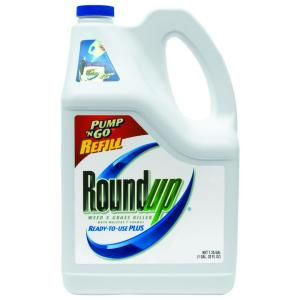 Roundup 1.25-Gallon Ready-to-Use Weed and Grass Killer Pump 'N Go Refill