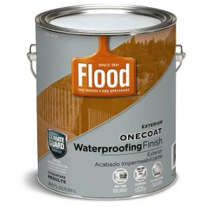 Flood 1 Gal.One Coat Protection Translucent Stain - Natural Finish