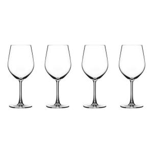 Cuisinart Advantage Glassware Essentials Collection All Purpose Wine Glass in Clear (Set of 4) by