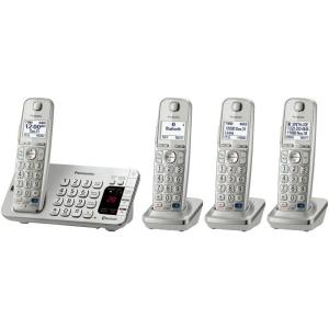 Panasonic Link2Cell 4-Handset Digital Cordless Bluetooth Cellular Convergence...
