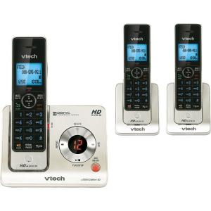VTech 3 Handset Cordless Answering System with Caller ID by VTech