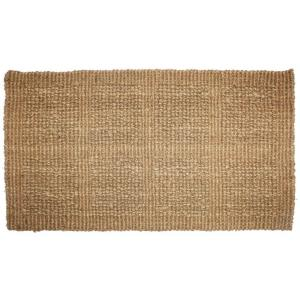 J & M Home Fashions Plain Tile Loop 18 inch x 30 inch Woven Coco Door Mat