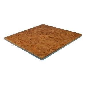 Barricade 1 in. x 2 ft. x 2 ft. OSB R3.2 Insulated Subfloor Tile