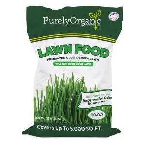 Purely Organic Products in Organic Lawn Fertilizer