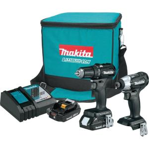 Makita 18-Volt LXT Lithium-Ion Sub-Compact Brushless Cordless 2-piece Combo Kit... by