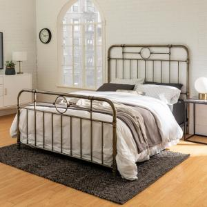 Decorating Bedrooms With Metal Beds  from images.homedepot-static.com