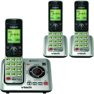 VTech 3 Handset Cordless Answering System with Caller ID and Call Waiting by VTech
