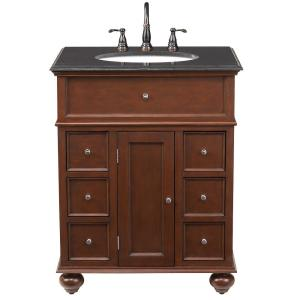 Home Decorators Collection Hampton Harbor 28 In W X 22 In D Bath Vanity In Sequoia With