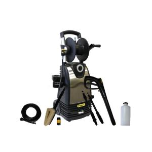 Stanley 1800 psi 1.4 GPM Direct Drive Electric Pressure Washer with High Pressure Variable Spray Gun and Bonus Turbo Wand