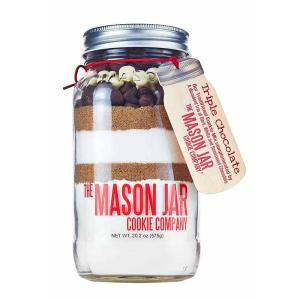 The Mason Jar Cookie Company 20.2 oz. Cookie Mix Triple Chocolate Chip by