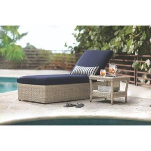 Home decorators collection naples light grey patio for Best price chaise lounge