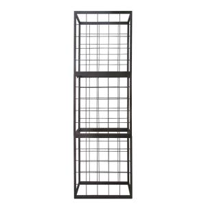 Epicureanist 25-Bottle Brown Stackable Wire Wine Rack by