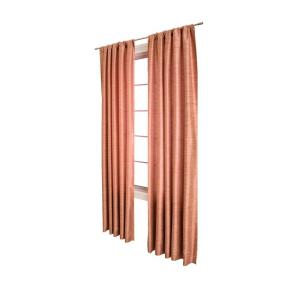 Home Decorators Collection Borgata Sangria Rod Pocket Curtain