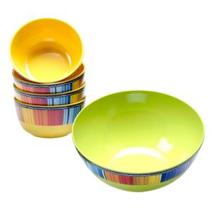 Click here to buy  5-Piece Serape Salad and Pasta Set.