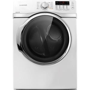 Samsung 7.4 cu. ft. Gas Dryer with Steam in White