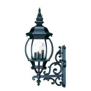 Acclaim Lighting Chateau Collection 4-Light Matte Black Outdoor Wall-Mount Light... by Acclaim Lighting
