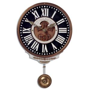 Global Direct Black Antique Reproduction Wall Clock