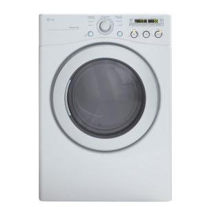 LG Electronics 7.1 cu. ft. Gas Dryer in White