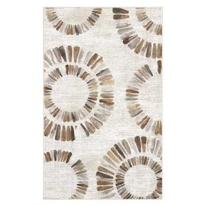 Darren Medallion Neutral 7 ft. 6 inch x 10 ft. Area Rug by