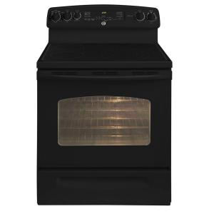 GE Adora 5.3 cu. ft. Electric Range with Self-Cleaning Convection Oven in Black