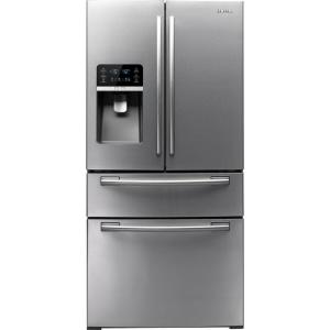 Samsung 33 in. W 26 cu. ft. French Door Refrigerator in Stainless Steel