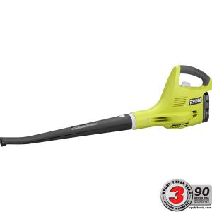 Ryobi ONE+ 120 MPH 18-Volt Lithium-Ion Cordless Hard Surface Leaf Blower/Sweeper