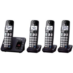 Panasonic 4-Handset Expandable Digital Cordless Answering System by Panasonic