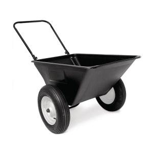 Precision 5.5 cu. ft. Lawn Cart with 16 in Pneumatics Wheels