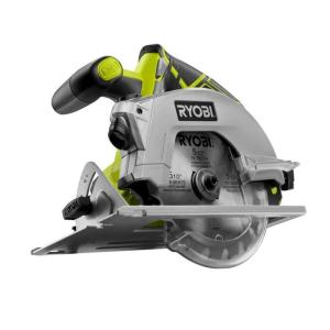 Ryobi 18-Volt One+ 5-1/2 in. Cordless Circular Saw with Laser (Tool Only)