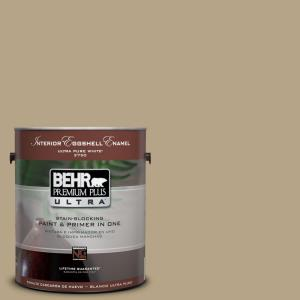 BEHR Premium Plus Ultra 1-Gal. Home Decorators Collection Cumin Eggshell Enamel Interior Paint